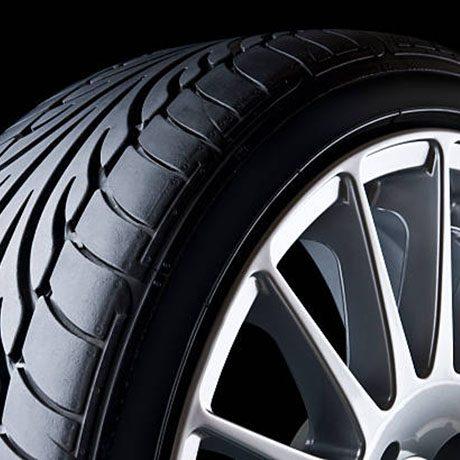 An alloy wheel